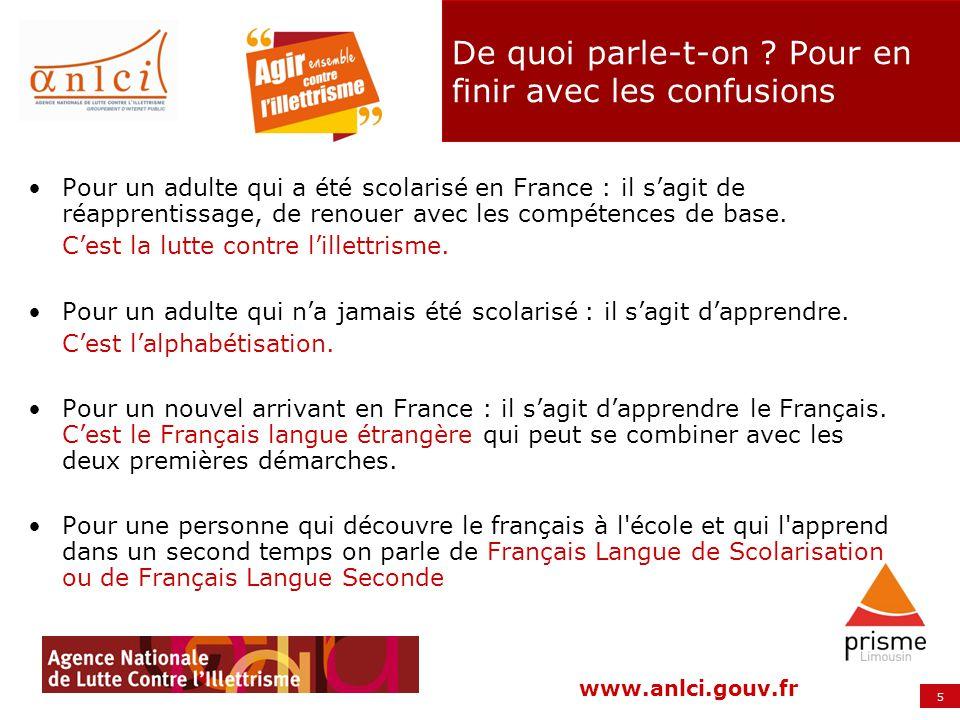 6 www.anlci.gouv.fr De quoi parle-t-on ? Pour en finir avec les confusions