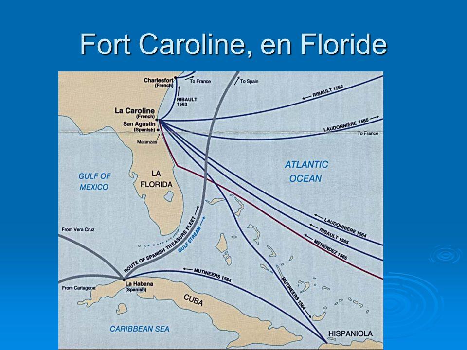 Fort Caroline, en Floride
