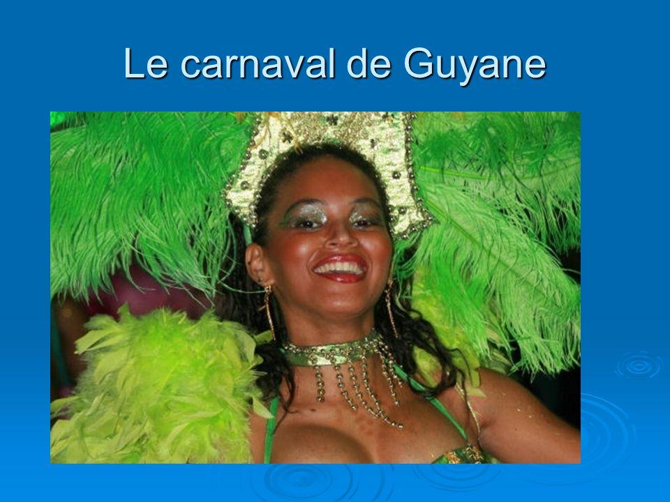 Le carnaval de Guyane