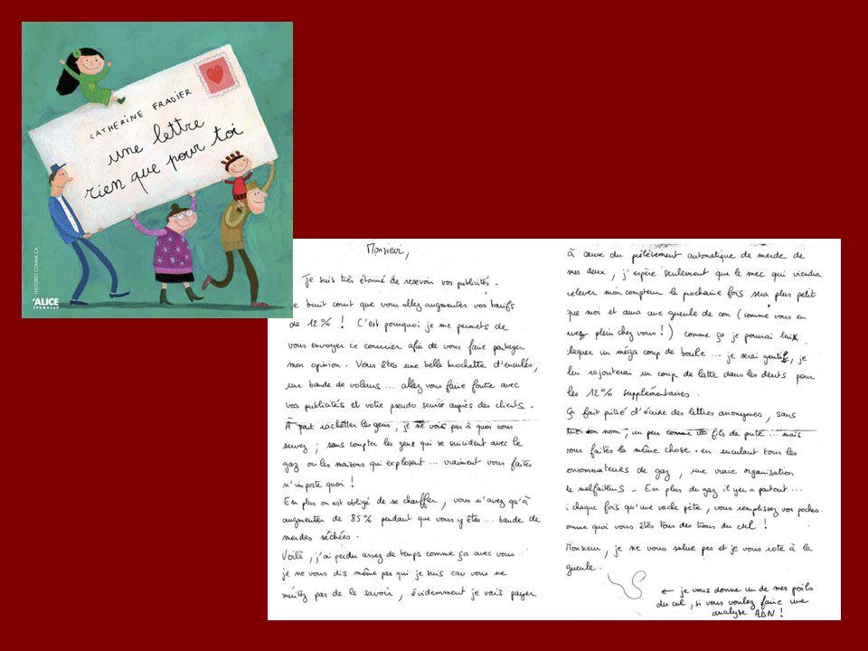 Une lettre