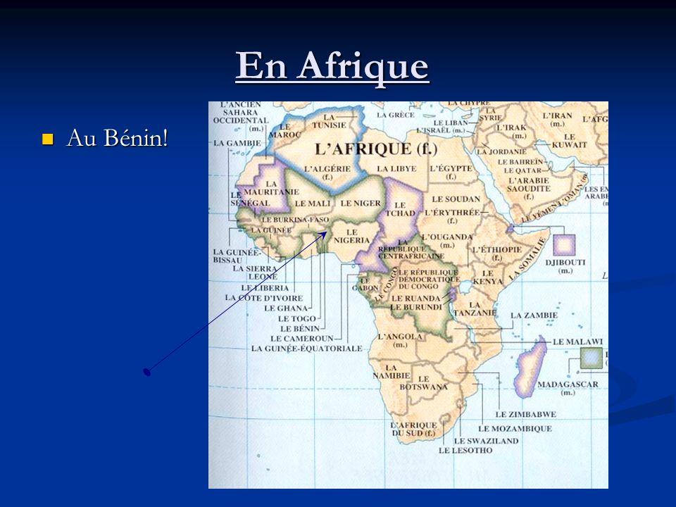 En Afrique Au Bénin! Au Bénin!