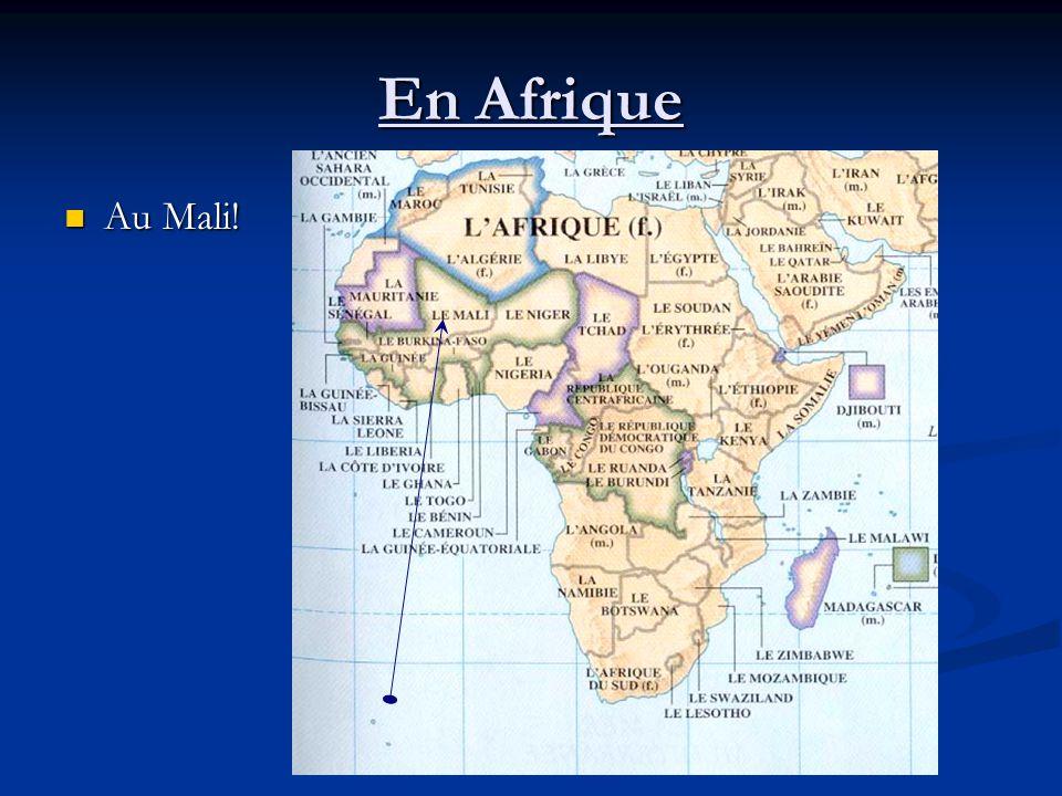 En Afrique Au Mali! Au Mali!