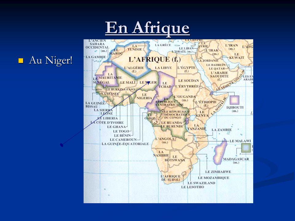 En Afrique Au Niger! Au Niger!