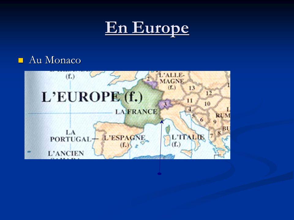 En Europe Au Monaco Au Monaco