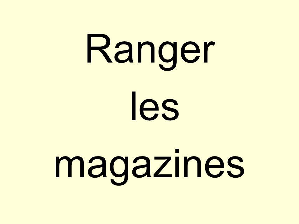 Ranger les magazines
