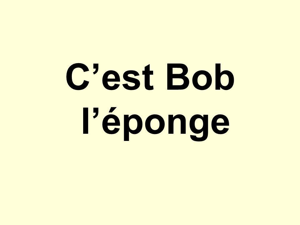 Cest Bob léponge