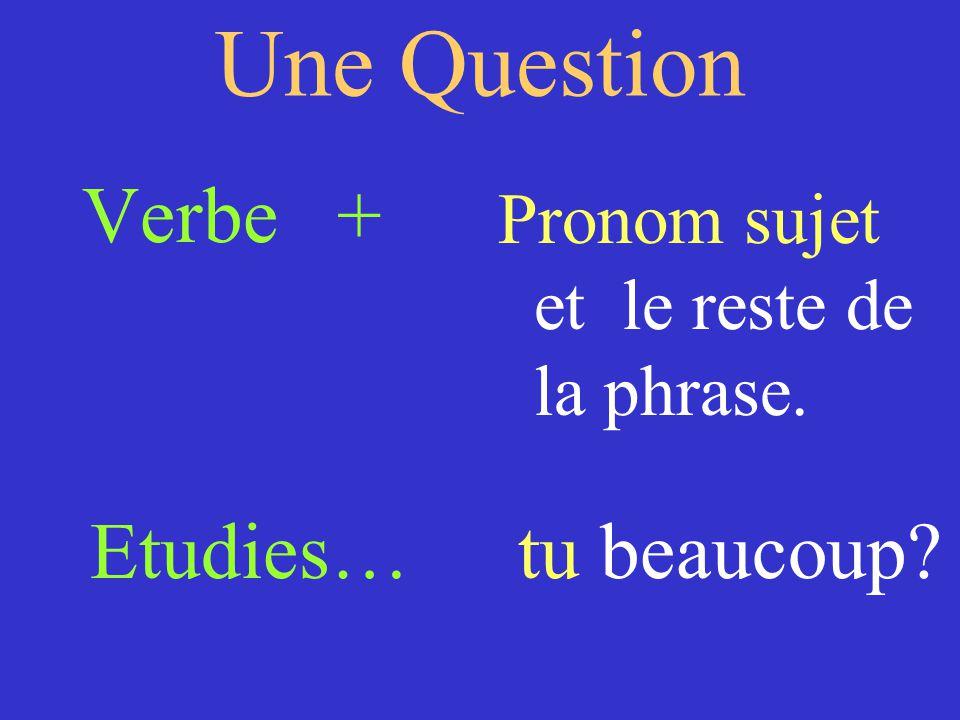 Changez les phrases aux questions 1) Ma mére chante bien.