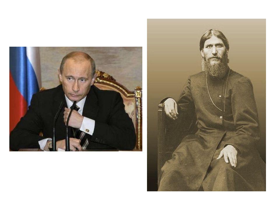 Il sappelle Vladimir Putin et il sappelle Rasputin. Ils sont russes.