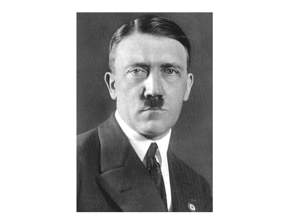 Il sappelle Adolf Hitler. Il est allemand.