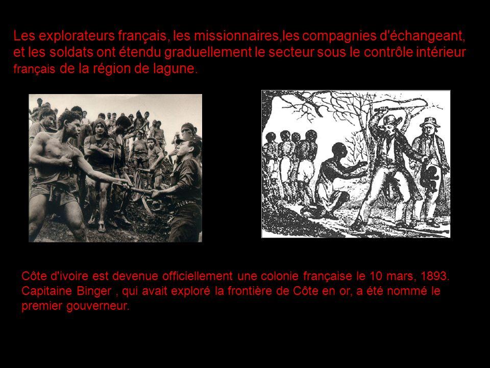 Les explorateurs français, les missionnaires,les compagnies d'échangeant, et les soldats ont étendu graduellement le secteur sous le contrôle intérieu