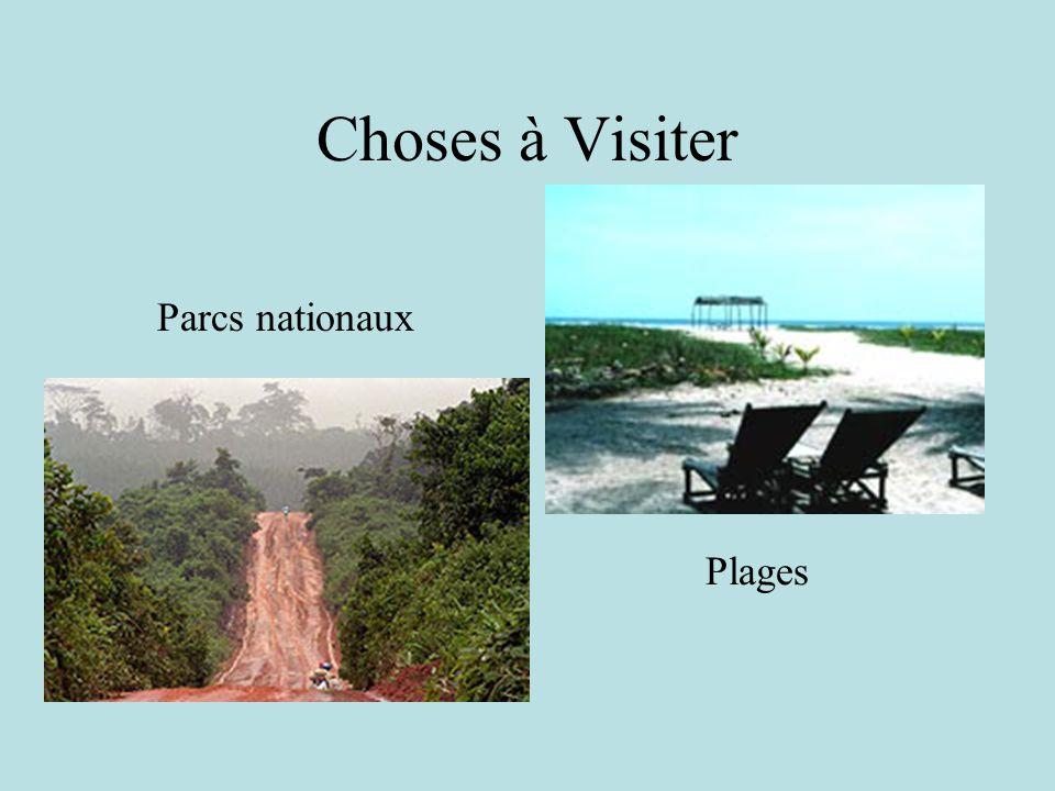 Choses à Visiter Parcs nationaux Plages