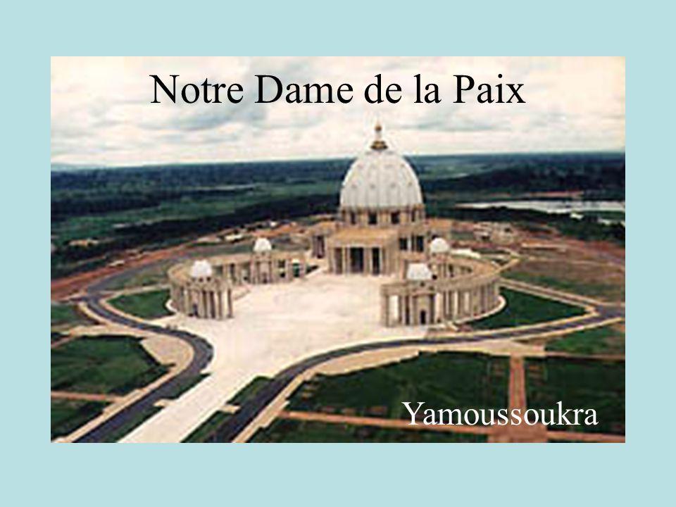 Yamoussoukra Notre Dame de la Paix