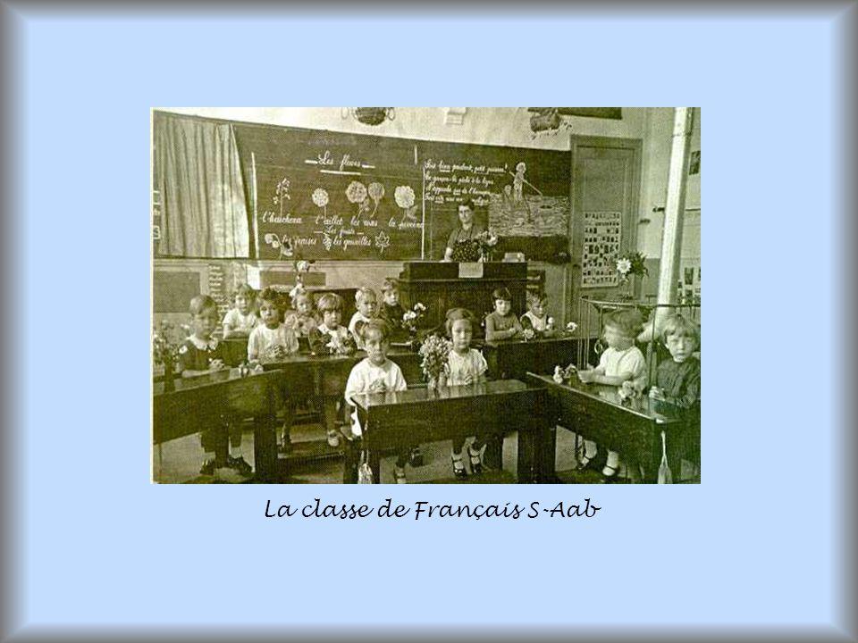 La classe de Français S-Aab