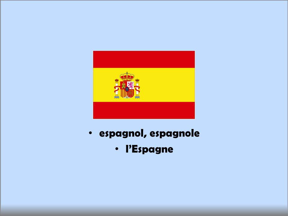 espagnol, espagnole lEspagne