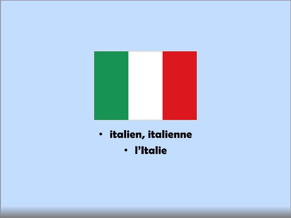 italien, italienne lItalie