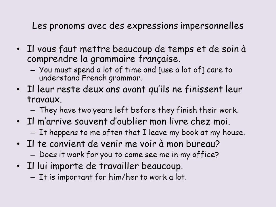 Limpératif – « nous », « vous », et « tu » Traduisons les premières phrases du passage.