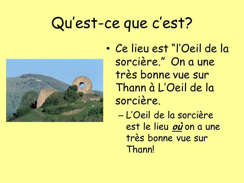Quest-ce que cest.Cest la célèbre Collégiale Saint- Thiébaut de Thann.