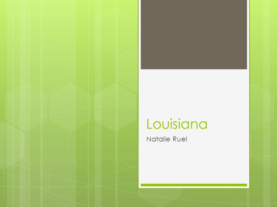 Louisiana Natalie Ruel