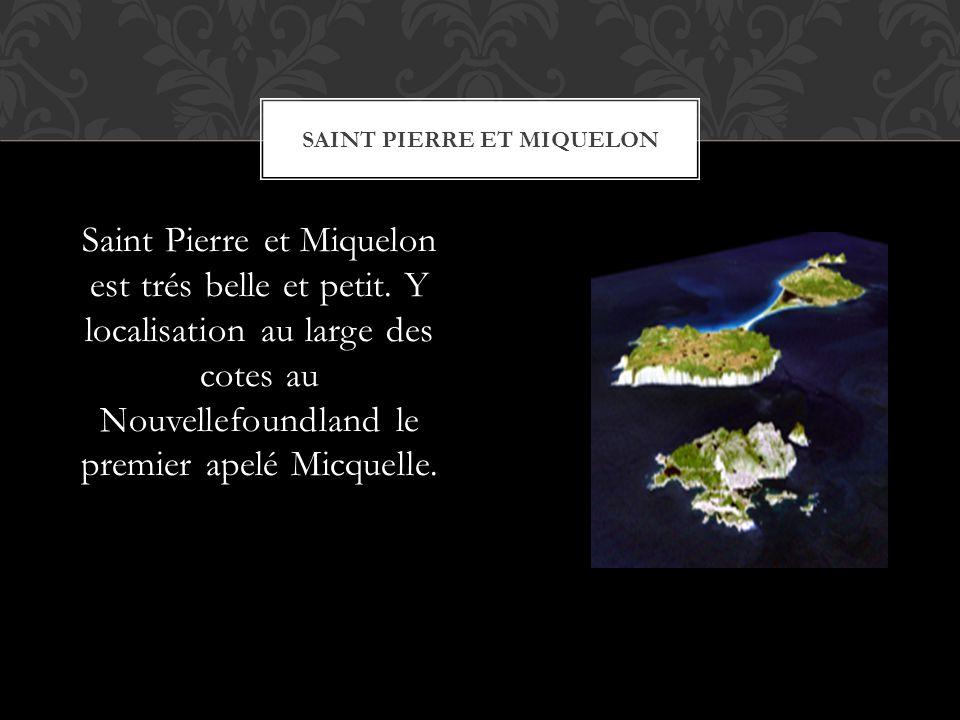 Saint Pierre et Miquelon est trés belle et petit.