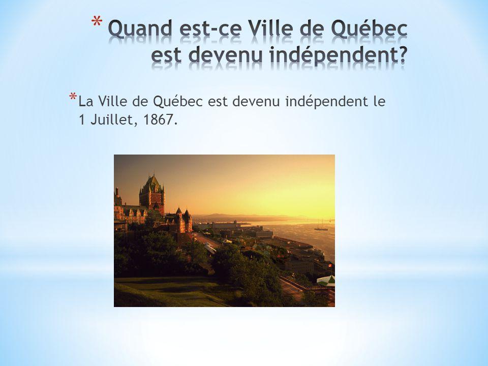 * La majorité de la population est français. * Le français est toujours une langue officielle.