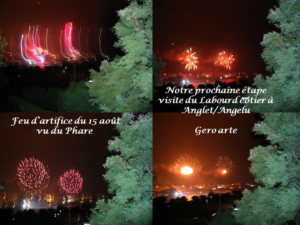 Biarritz vu du Phare