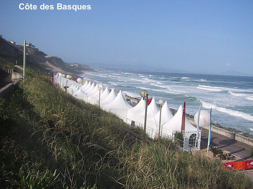Côte des Basques Vue sur villa Beltza