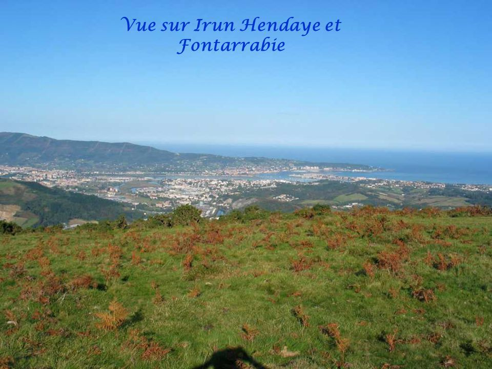 La Palombe indique la direction Nord-Sud Iparralde/Hegoalde