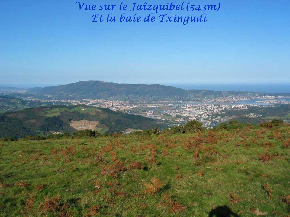 Vue sur Irun Hendaye et Fontarrabie