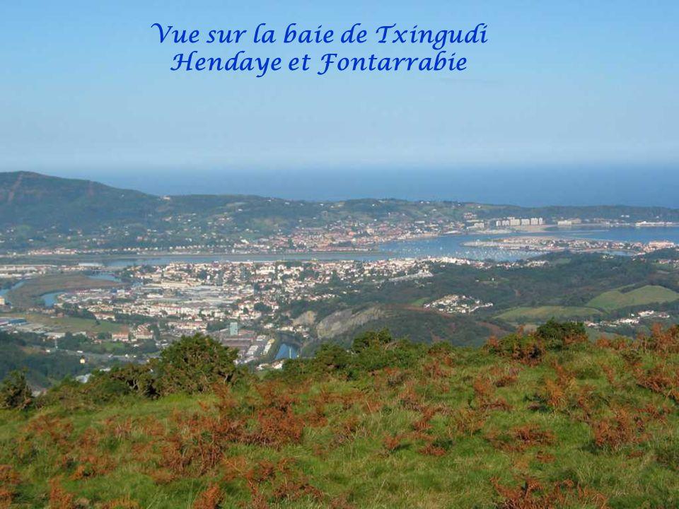 Vue sur Pasajes San Sébastien et Irun