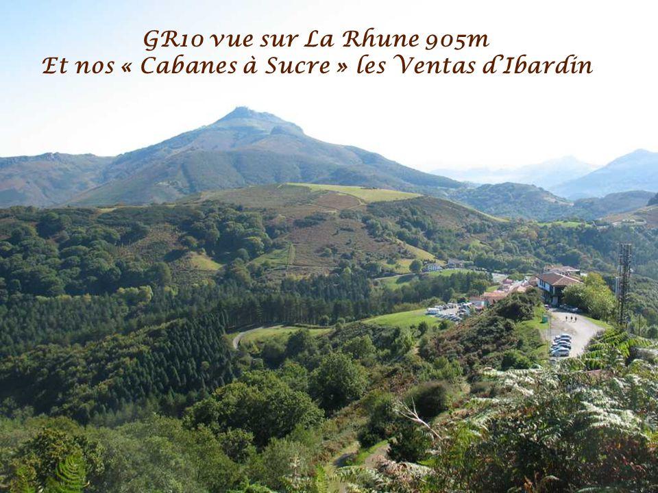 GR10 vue sur La Rhune