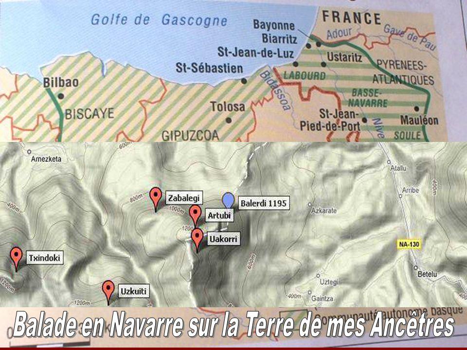Txindoki 1346m face Sud