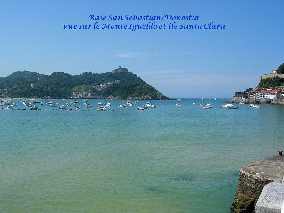Mont Urgull Sacré Cœur Port des pêcheurs