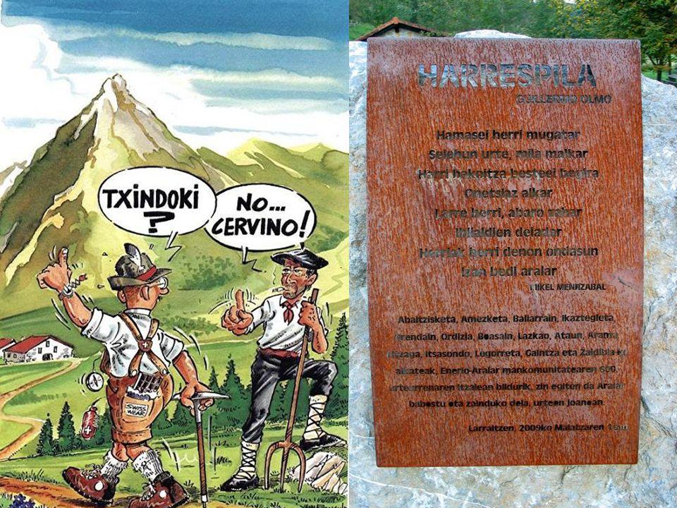 Balade du 05/10/2012 au Mont TXINDOKI/LARRUNARRI 1346m Iganbide / La montée
