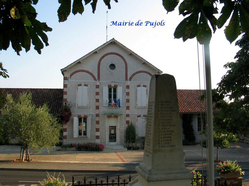 Mairie de Pujols