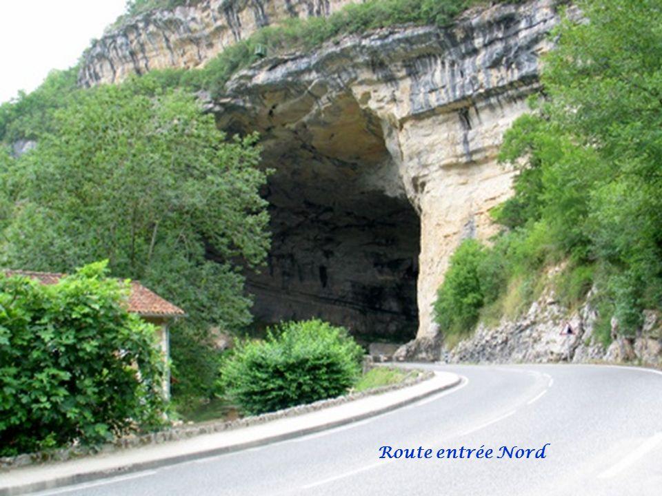 Route entrée Nord