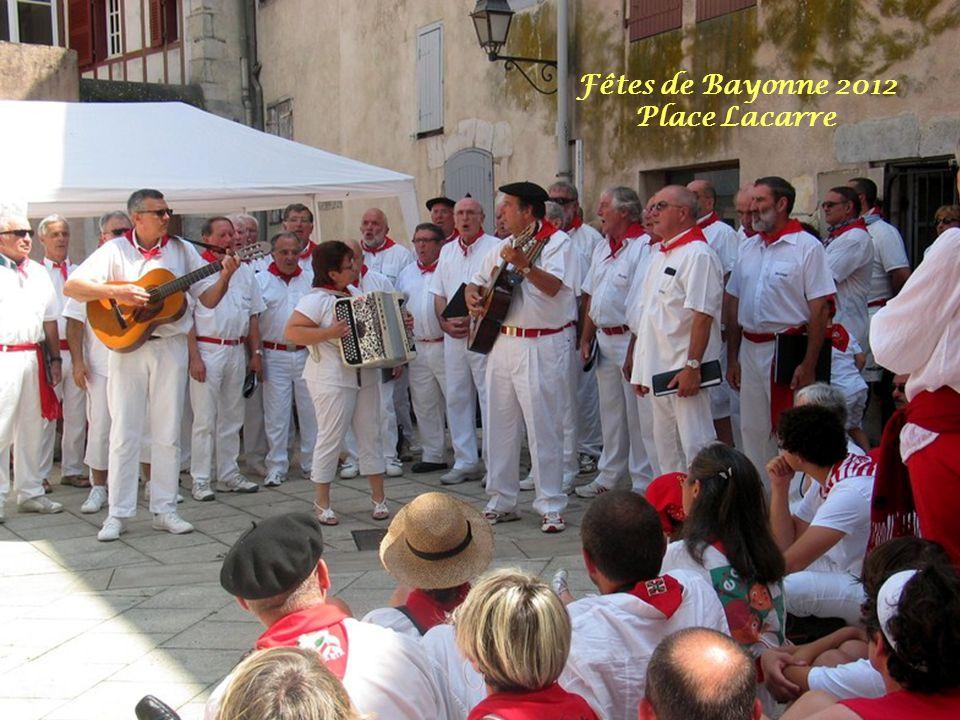 Fêtes de Bayonne 2012 Place Lacarre
