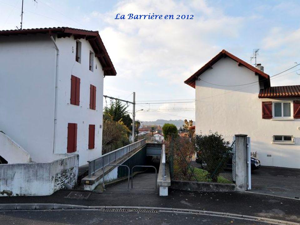 La Barrière en 2012