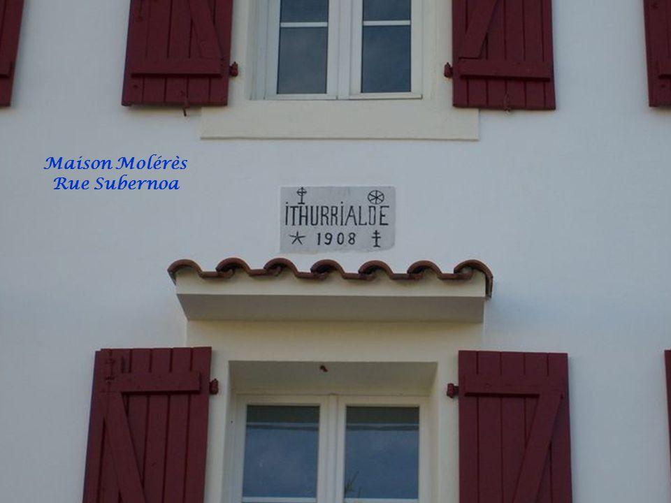 Maison Molérès Rue Subernoa
