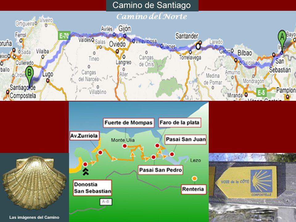 Le Jeudi 16/07/2009 notre balade seffectue sur le chemin de St Jacques de Compostelle « El Camino del Norte » entre Pasajes/Pasaia et San Sebastian/Do