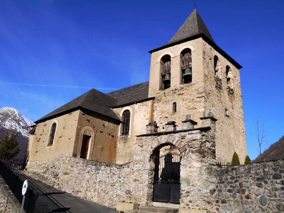 Eglise d Esquièze du XVIIème siècle