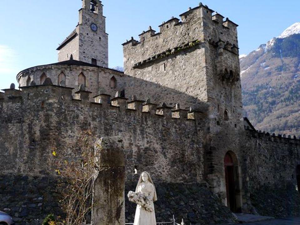 Luz St Sauveur : église St André Cette église fut bâtie à la fin du XIème siècle par la famille de Saint- André.