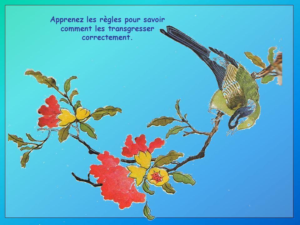 Suivez les trois R : R espect de soi-même, R espect des autres, R esponsabilité de tous vos actes.