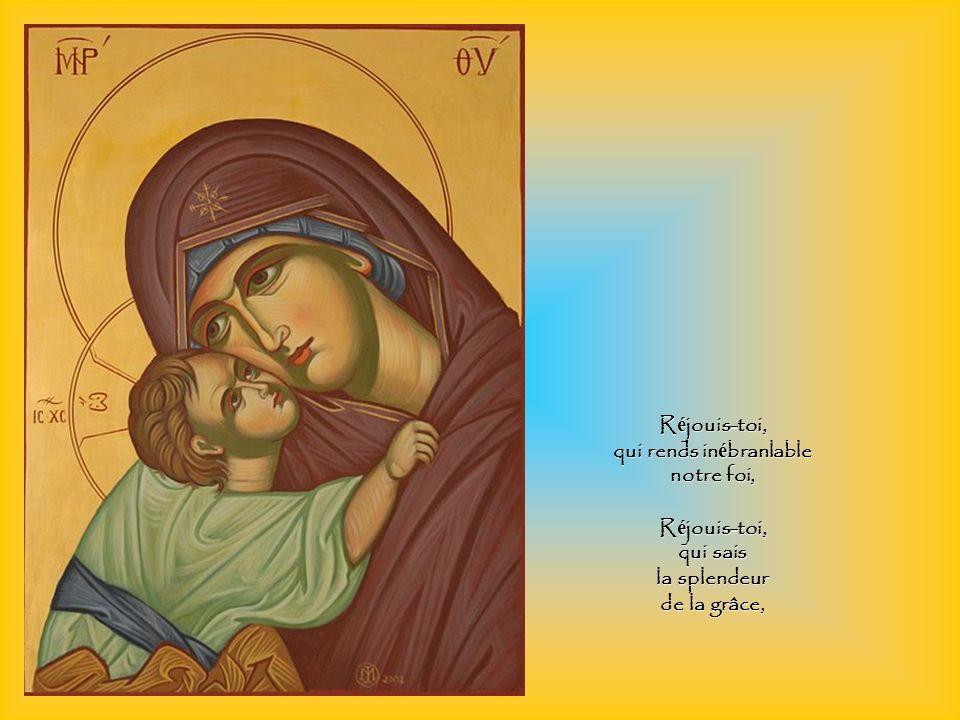 R é jouis-toi, bouche silencieuse des apôtres, R é jouis-toi, fermet é des t é moins du Christ.