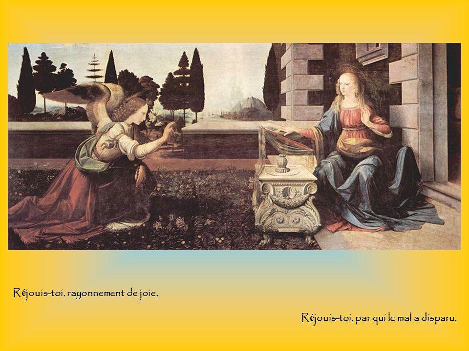 Hymne acathiste à la Mère de Dieu Un « acathiste » est une hymne que l on écoute debout (a-cathiste = non assis).