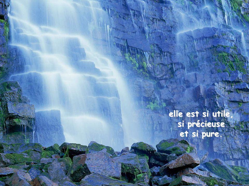 Loué sois-tu, Seigneur, pour notre sœur l'eau