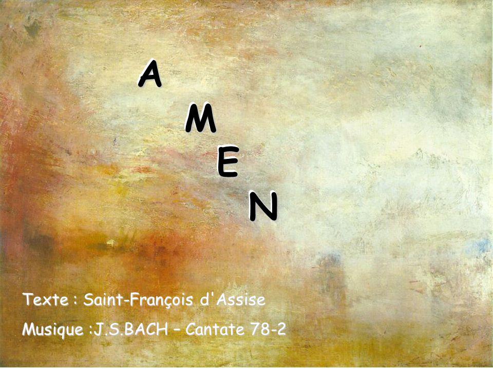 Louez et bénissez le Seigneur, rendez-Lui grâce et servez-Le avec beaucoup de simplicité.