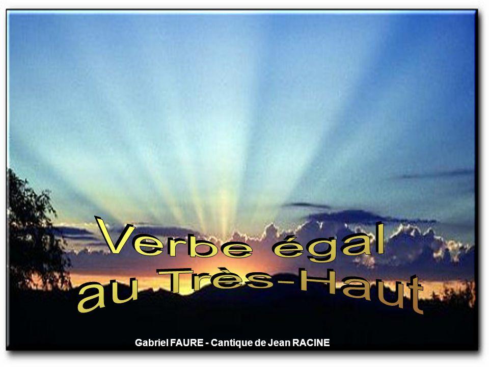 Gabriel FAURE - Cantique de Jean RACINE
