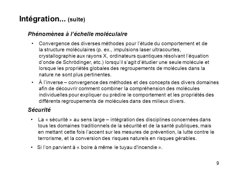 9 Intégration...