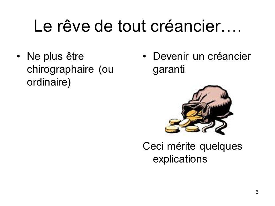 6 Droit de gage général des créanciers sur le patrimoine du débiteur 2644 C.c.Q.