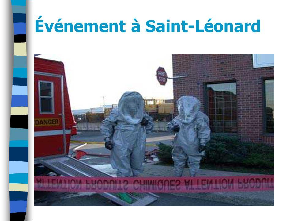 Événement à Saint-Léonard